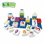 BiOBUDDi - Learning Numbers - Eco Friendly Block Set - 27 Blocks